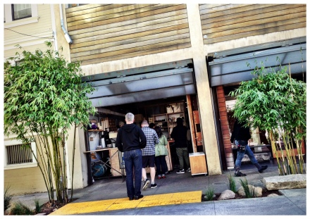 Blue Bottle Coffee - Original Location in hayes valley