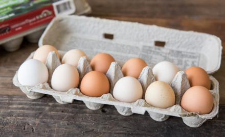 数店から出品されている卵はずべてPastured