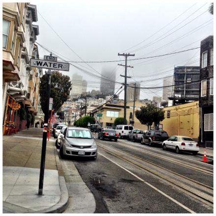 霧の街サンフランシスコ